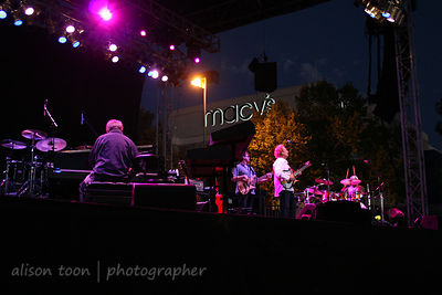 CITRUS HEIGHTS, CA - AUGUST 18: Lee Ritenour and Friends, performing during the Sunrise at Night concert series on August 18th, 2012 in Citrus Heights CA