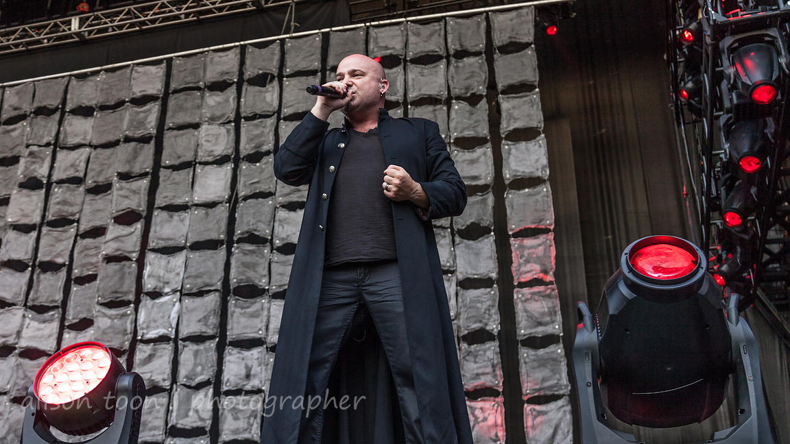 David Draiman, vocals, Disturbed