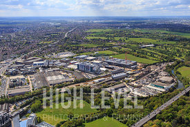 Aerial Photography Taken In and Around Houndslow-Gunnersbury