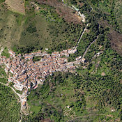 Benalauría aerial photos