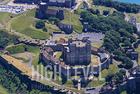 Aerial Photography Taken In and Around Dover-Dover Castle