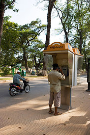 Callbox in Cambodia