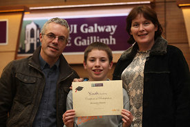 Youth Academy Graduation..Photograph by Aengus McMahon.