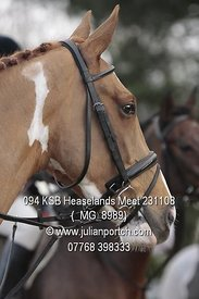 2008-11-23 KSB Heaselands Meet