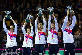 Tennis: 2016 Fed Cup Final Strasbourg
