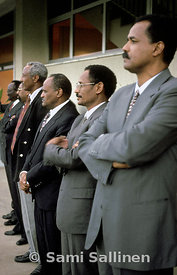 Isaias Afwerki and ministers