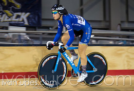 Junior Women Omnium Time Trial. 2015 Canadian Track Championships, October 11, 2015