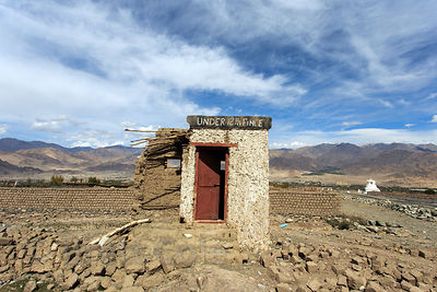 Abandoned outbuilding near Stok village, Ladakh, India