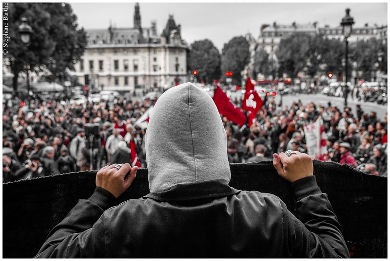 Manif antifa (septembre 2013) photos