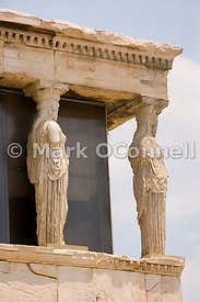 Temple of Erechtheion in Athens 3