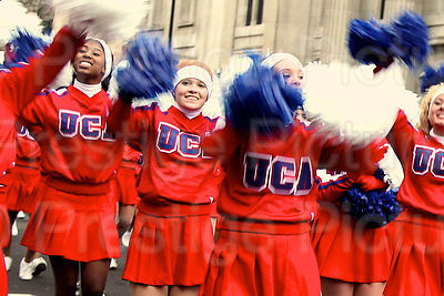 London New Year Parade-UCA Cheer Leaders
