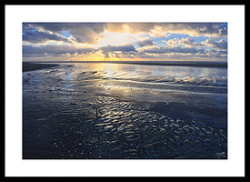 Winter Sunset Le Touquet Beach