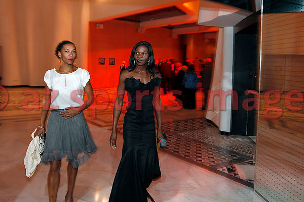 Amantle Montsho (Botswana) 400m World Champion,at the IAAF Gala Monaco - Athlete of the year event.
