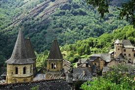 Conques Aveyron 08/06