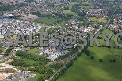 Manchester Airport Wythenshaw Aerial photographs