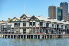 Walsh Bay at Sydney Harbour