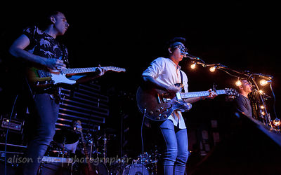 SACRAMENTO, CA, 30 JULY 2013: Hunter Hunted, performiing at Sacramento's Ace of Spades, 30h July 2013