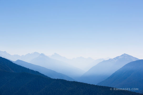 HURRICANE RIDGE OLYMPIC NATIONAL PARK WASHINGTON MOUNTAINS COLOR