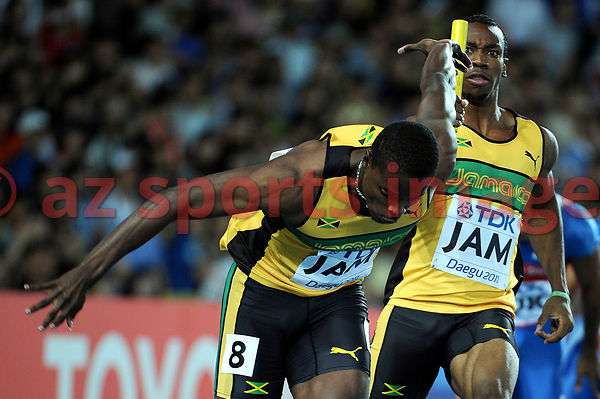 4x100 men's Jamaican Team