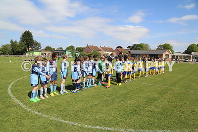 U11 Cup Final. Highnam v Hucclecote. 15th May 2015 photos