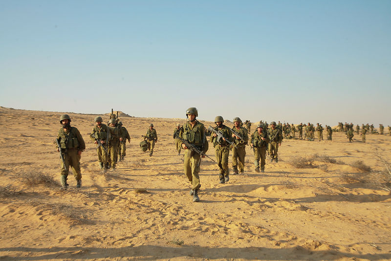 IDF reservists soldiers