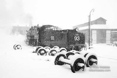 Nevada Northern Railway Engine #93