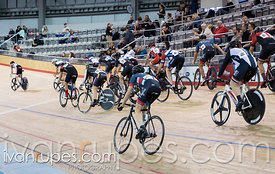 Cat 2 Men Scratch Race, 2016/2017 Track O-Cup #1, Mattamy National Cycling Centre, Milton, On, December 4, 2016