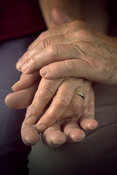 Old people's hands