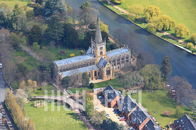 Aerial Photography Taken In and Around Stratford-upon-avon-Holy Trinity Church