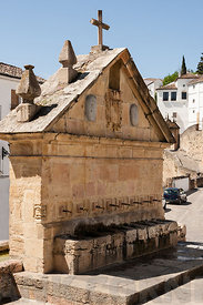 Ancient water well Ronda.