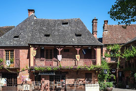 restaurant à Collonges-la-Rouges