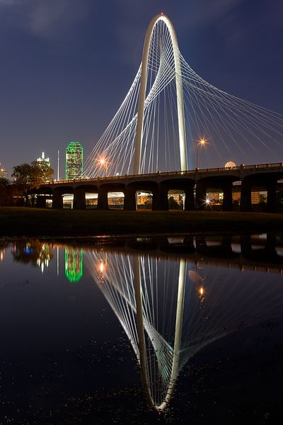 Margaret Hunt Hill Bridge Reflections #2