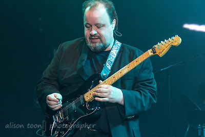 Steve Rothery, guitar, Marillion, Sunday evening, PZ, 2015