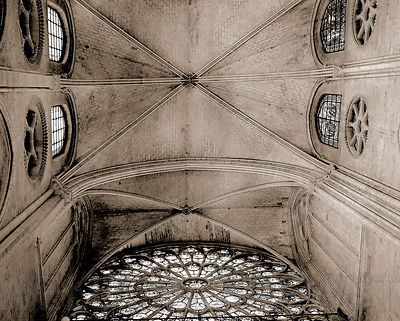 Ceiling of Notre-Dame