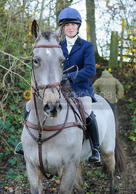 Charlotte Barnes - The Cottesmore Hunt at Owston 29/11