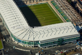 Aerial view - Windsor Park, Belfast