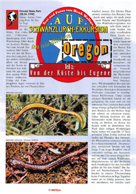 Salamander excursion North Oregon ( German version)