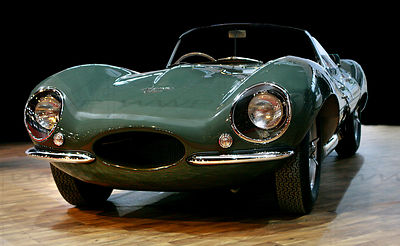 Jaguar XKKS 1954 Sport car Art Photographs