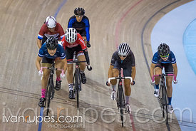 Women Keirin 7-12 Final, 2017/2018 Track Ontario Cup #2, Mattamy National Cycling Centre, Milton On, January 14, 2018