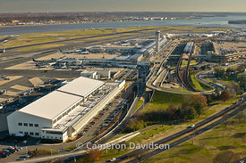 Aerial Photo of Ronald Reagan - Washington National Airport.