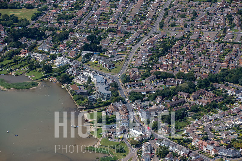 Aerial Photography Taken In and Around Christchurch, UK