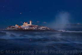 The 'Blue' Hour Nubble Lighthouse