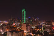 Dallas Stock Photos: Green building in downtown Dallas, Texas