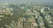 London Aerial Footage of Nine Elms
