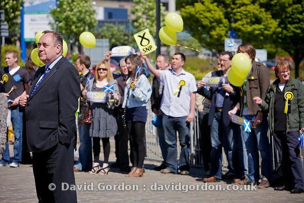 Alex Salmond in Dundee