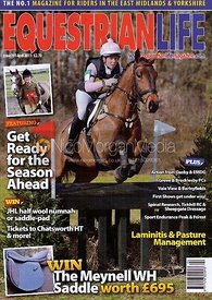 Equestrian Life cover photography, April 2011.