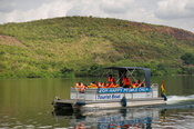 River cruise on the Lower Volta River, Akosombo, Ghana