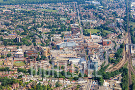 Aerial Photography Taken In and Around Redhill, UK