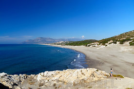 Patara Beach near Kalkan, Lycian Coast, near Kas, Turkey, Asia.