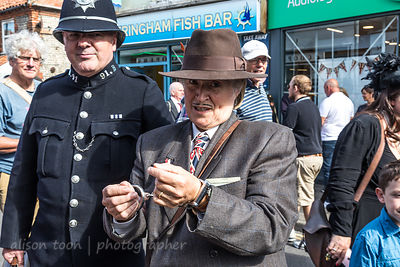 Arrested, 1940's Weekend, Sheringham, Norfolk